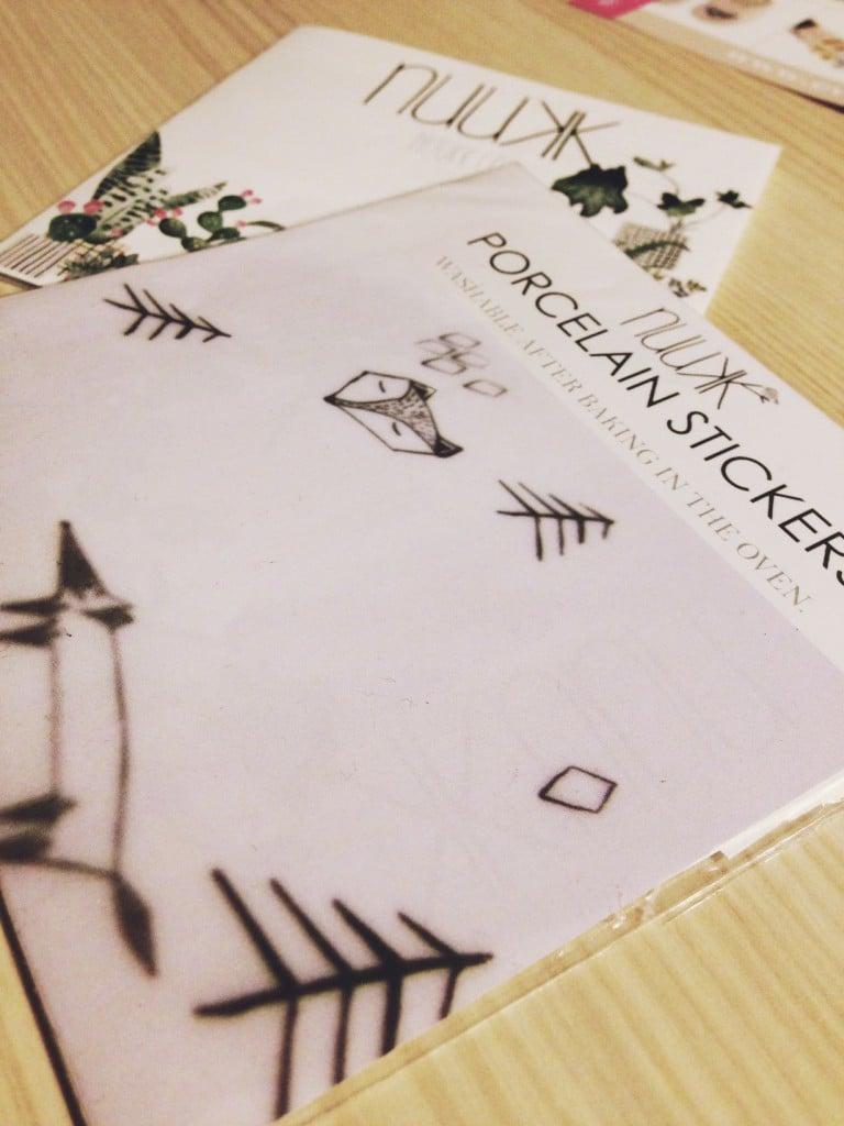 Nuuk, Grafik, Design, Layout, Porzellan-Sticker