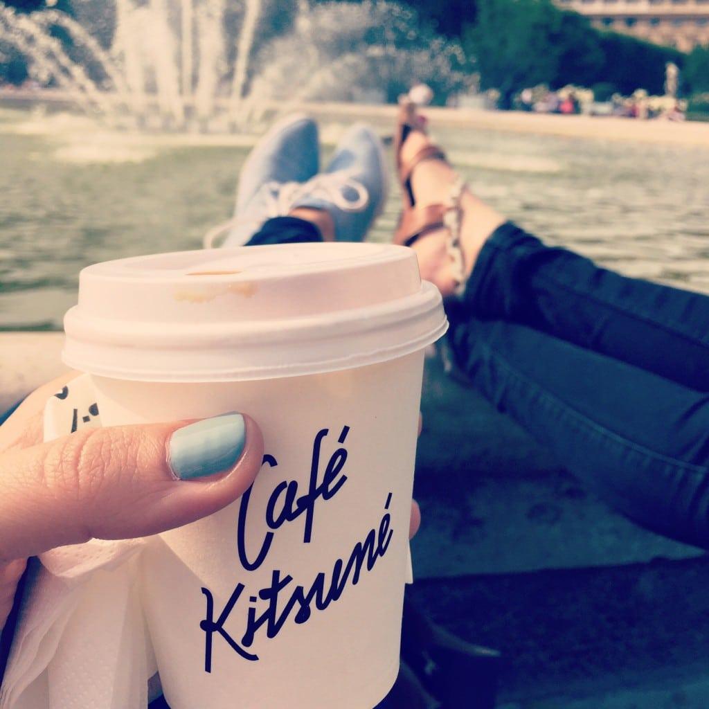 Und manchmal lege ich auch die Füße hoch, gemeinsam mit Freunden...gern auch in Paris.