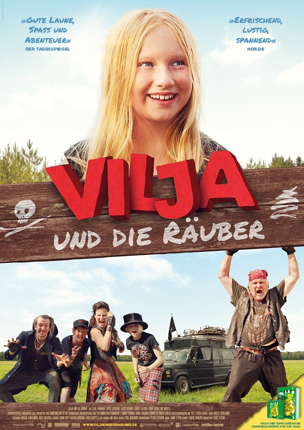 Vilja und die Räuber: gewinnt Kinokarten für das Räuberabenteuer, Gewinnspiel, Kinokarten, Vilja, Finnland, Film für Kinder