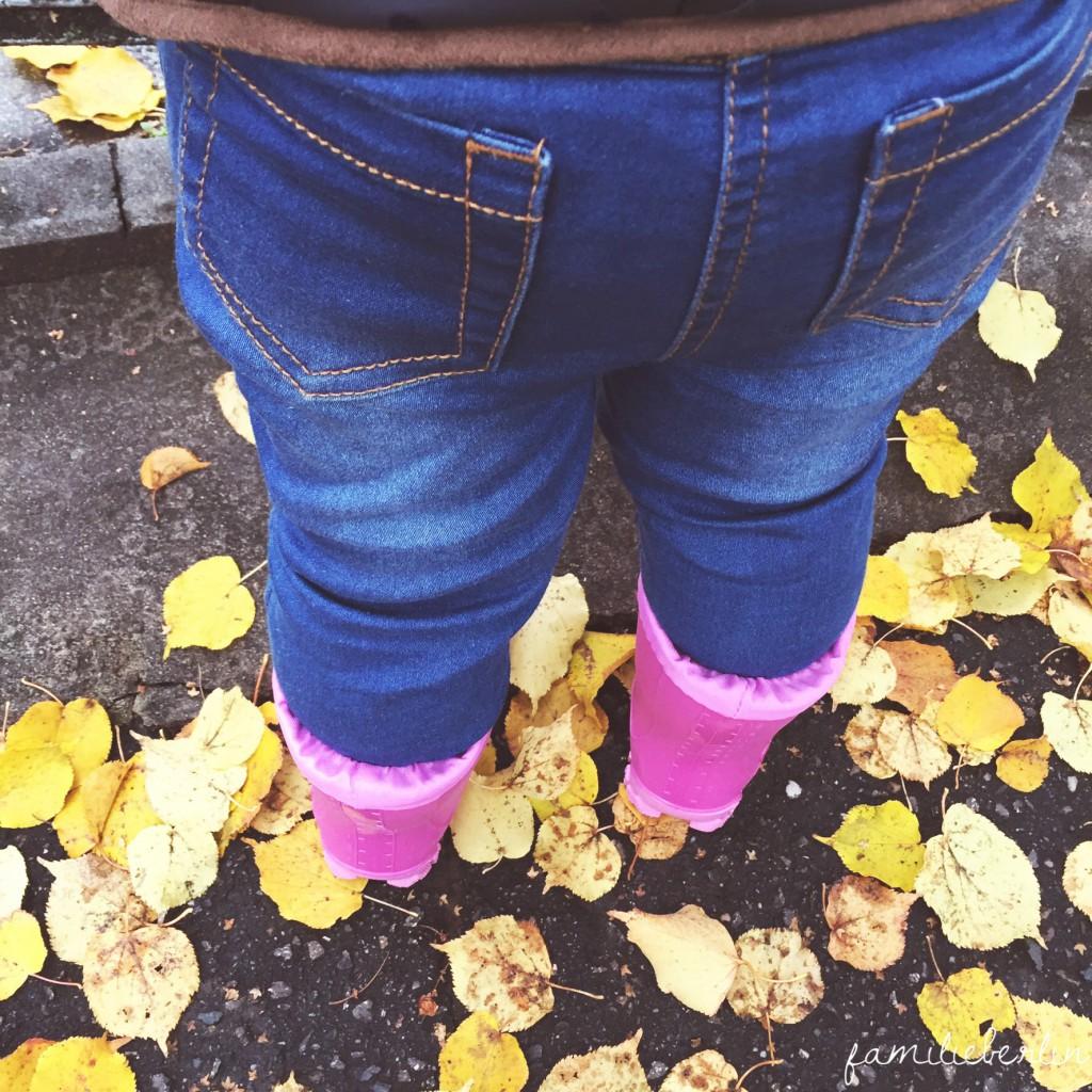 Wochenende in Bildern, Familienzeit, Gummistefel, Herbst, Spaziergang