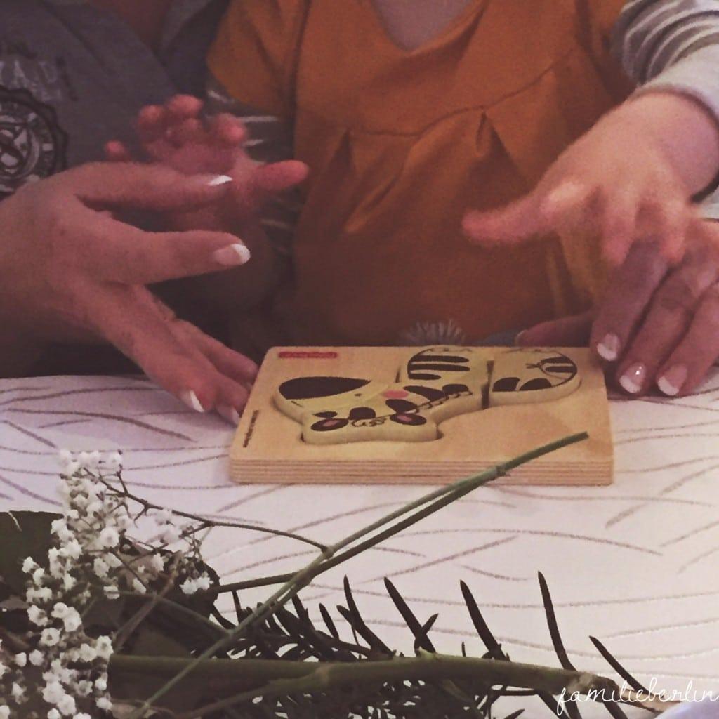 Puzzle, Kinderhand, Kleinkind, Familie, Spiel