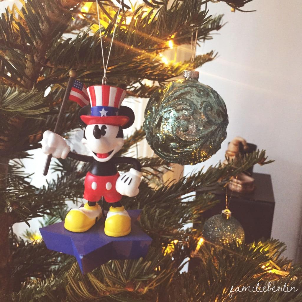 Weihnachtsbaum, Schmuck, Advent, Micky Maus