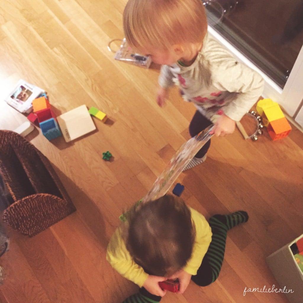 Freunde, Spielen, Kleinkind