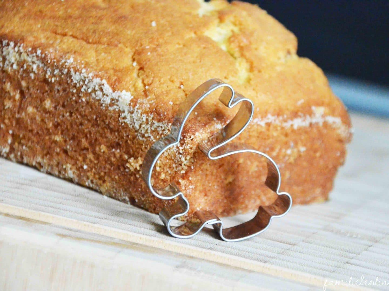 Ich Habe Einen Hasen Gebacken Motiv Marmorkuchen Zu Ostern