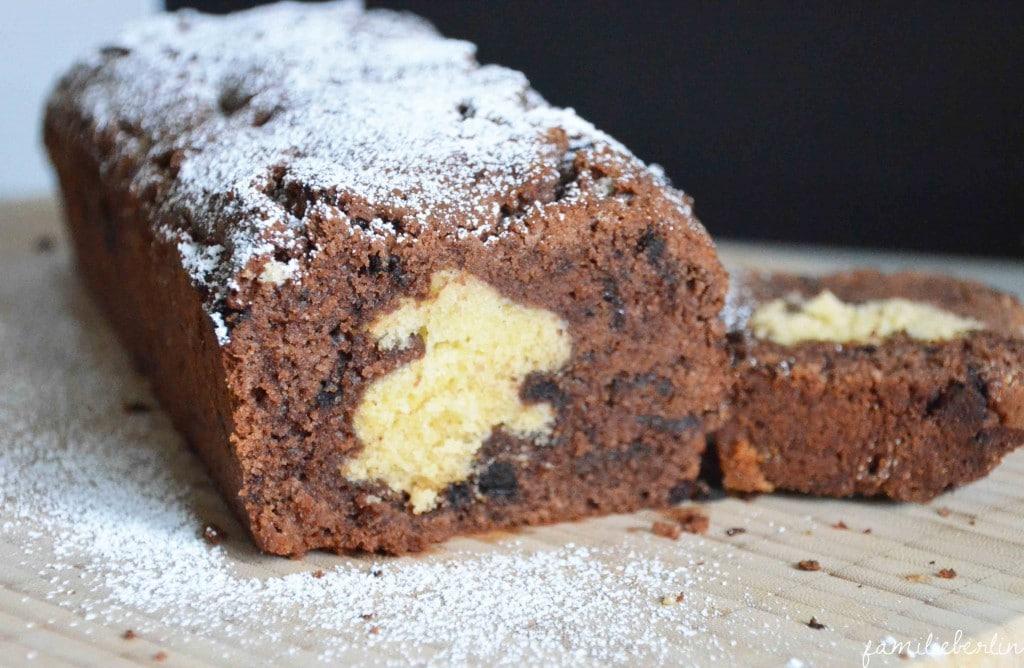 Motiv-Marmorkuchen Ostern, Kastenkuchen, Rührteig, Ostern, Backen, Mitbringsel