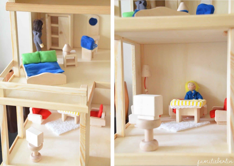 Spielzeug inspiration ein selbstgebautes puppenhaus aus
