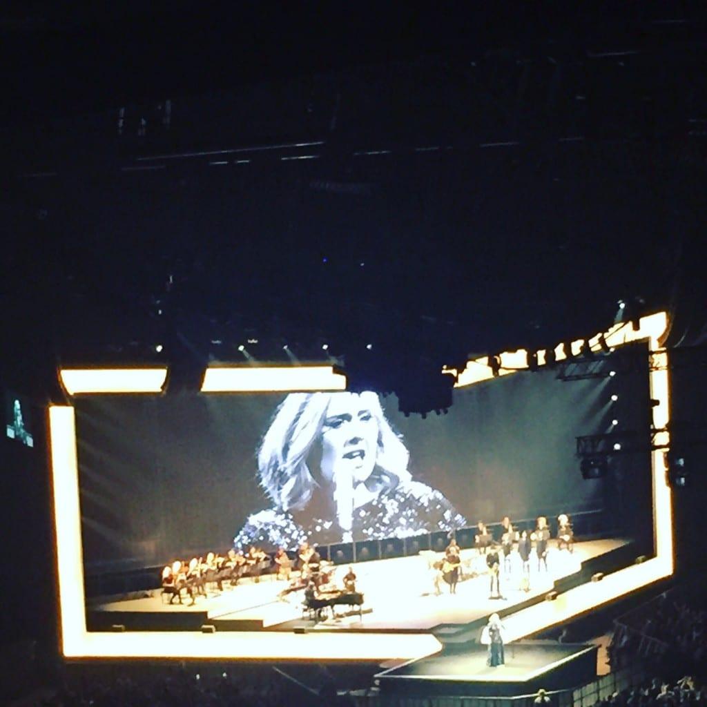 Adele, Konzert, Musik