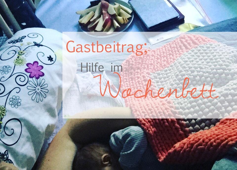 Hilfe im Wochenbett