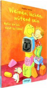 Kinderbücher über Gefühle, Bilderbuch, Kleinkinder, Gefühle, Wut, Trauer, Lachen, Glück, Lesen, Ravensburger, Coppenrath, Oettinger, Nord Süd Verlag