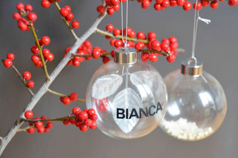 weihnachtsbastelei weihnachtskugeln mit namen und klimbim familieberlin. Black Bedroom Furniture Sets. Home Design Ideas