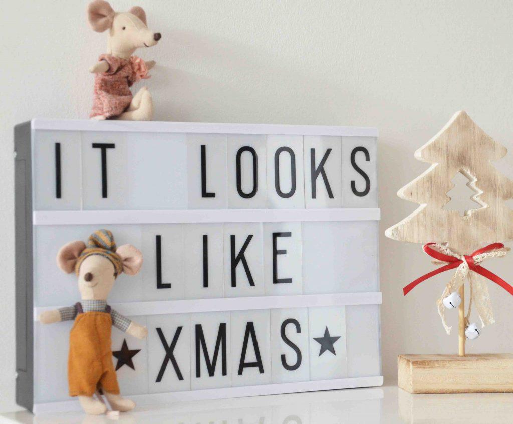 Weihnachtlich dekoriert mit maileg, Deko, Weihnachten, Schmücken, Adventskalender, Maus, Hase, Wolf, Adventskranz, Weihnachtsbaum