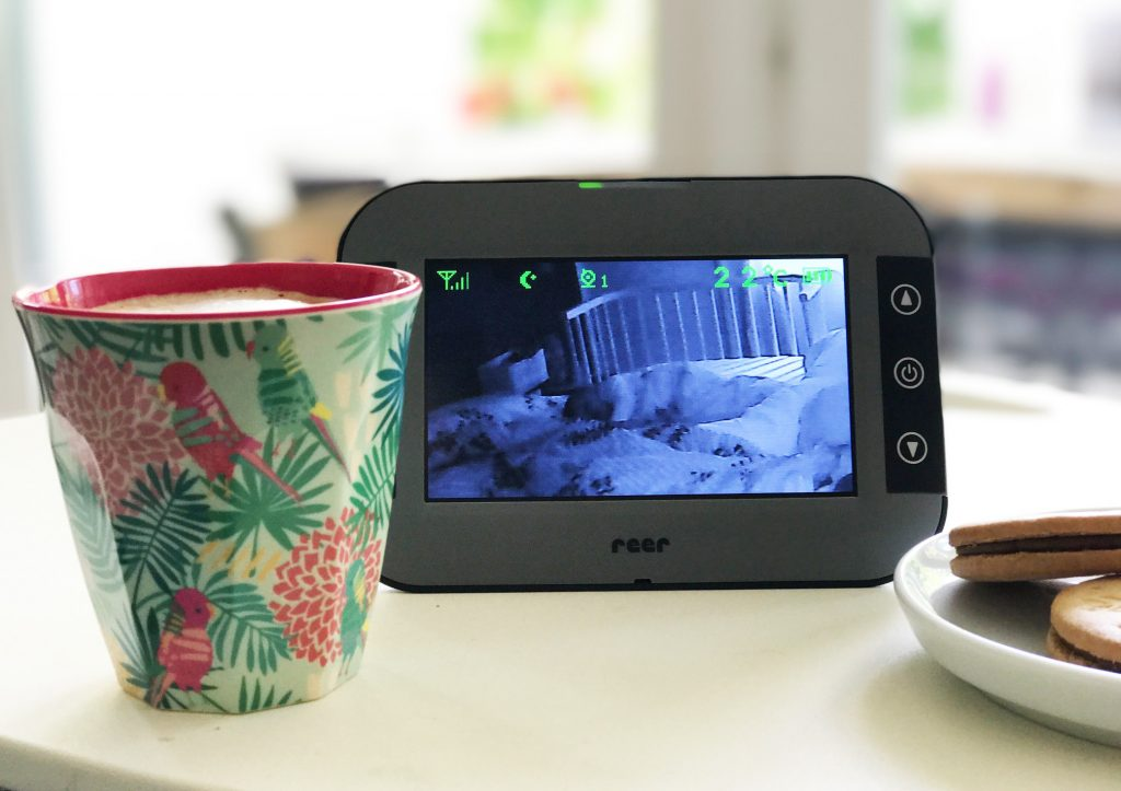 reer Babyphone Mix & Match, mobile Babys, Baby fällt aus dem Bett, Babyphone mit Bild, Auge im Schlafzimmer, Kinderzimmer