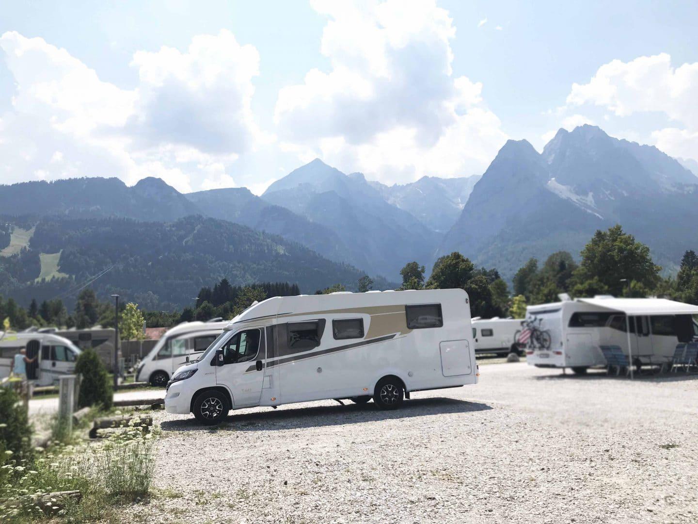 Reisen mit Kindern: Mit dem Reisemobil im Allgäu und Umgebung