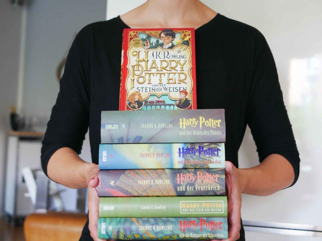 20 Jahre Harry Potter: Der junge Zauberer feiert Jubiläum. Nach 20 Jahren gibt es eine Neuauflage mit wunderschönen Covern.
