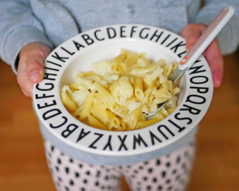 One Pot Pasta mit Blumenkohl und Käse für Kinder und ein tolles Kochbuch