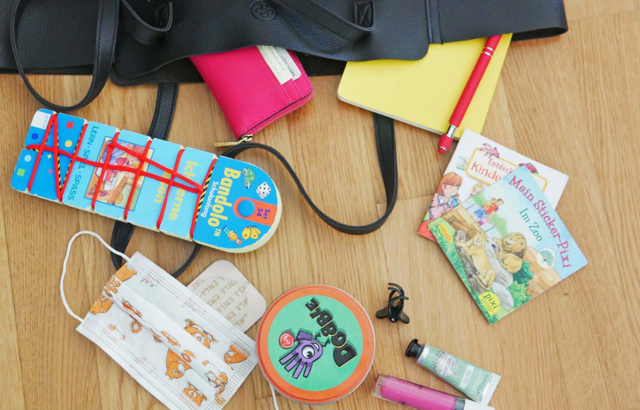 Mir ist langweilig: Spielideen für unterwegs und die Handtasche
